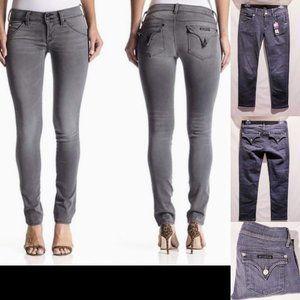 "Hudson Jeans Jeans - 🌟New🌟Hudson ""Collin"" Skinny Jeans, Gray size 27"